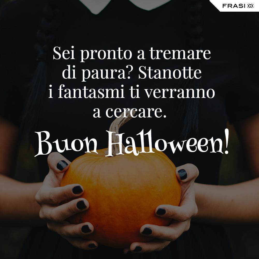 Buon Halloween auguri anonimo