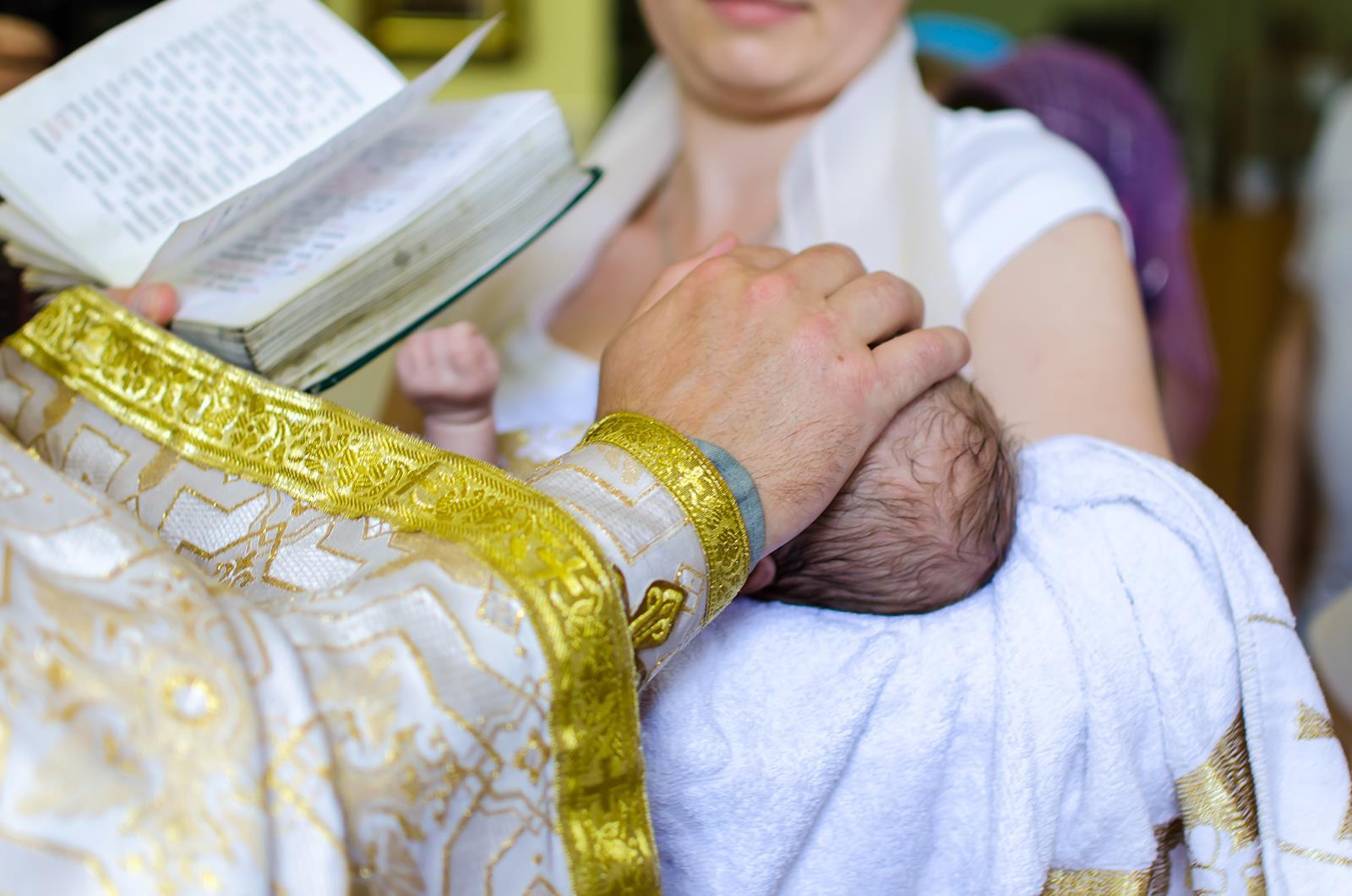 Copertina Messaggi di auguri battesimo