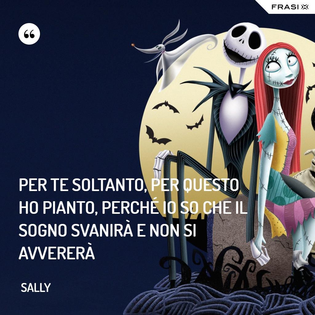 Immagine con frase di Sally
