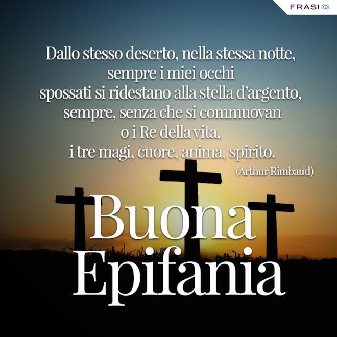 Buona Epifania religiosa Arthur Rimbaud