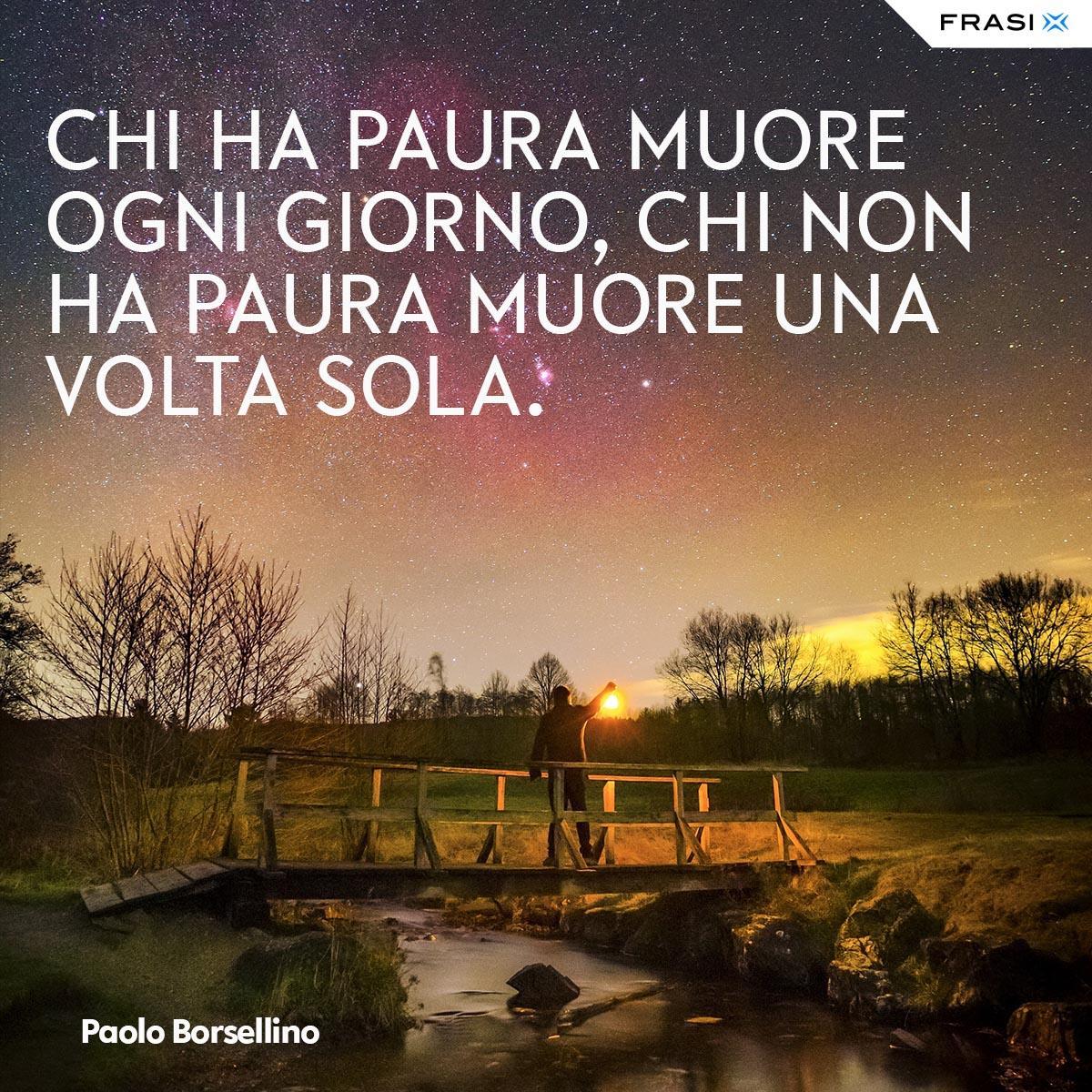 Frasi tumblr Paolo Borsellino