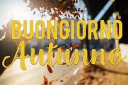 Copertina Buon giorno autunno