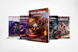 I libri e i fumetti di D&D