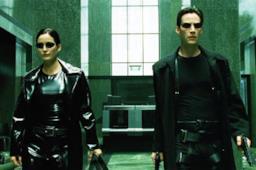 Una scena dal film Matrix