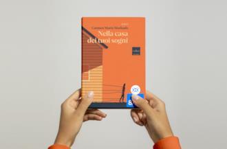 Un dettaglio della copertina del libro