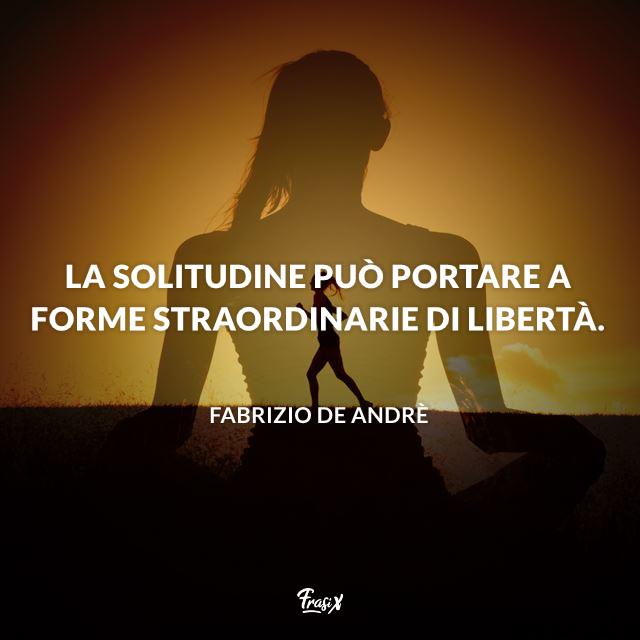 Immagini sulla libertà Fabrizio de Andrè