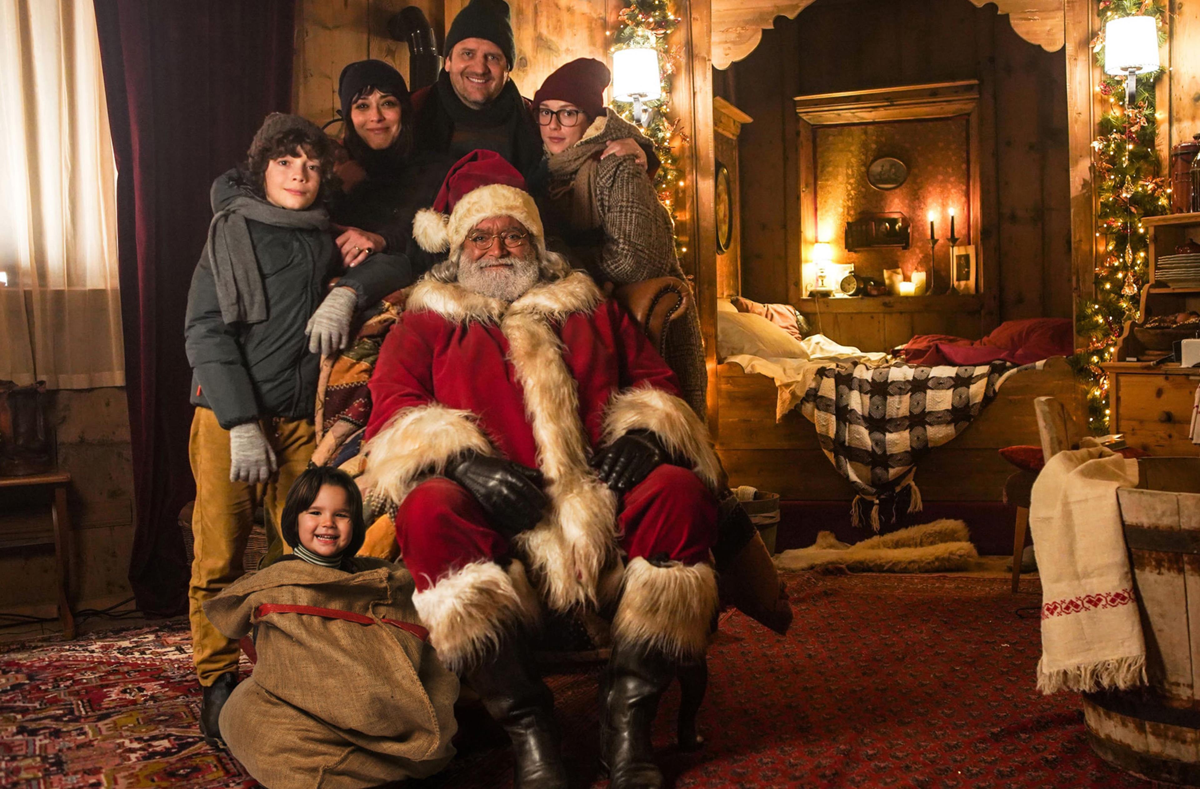 Copertina 10 giorni con Babbo Natale frasi