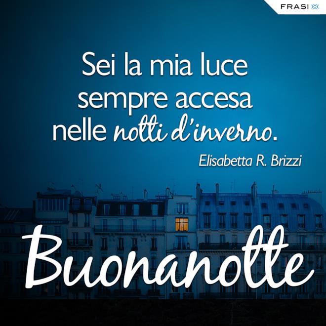 Buonanotte inverno frasi Elisabetta R. Brizzi