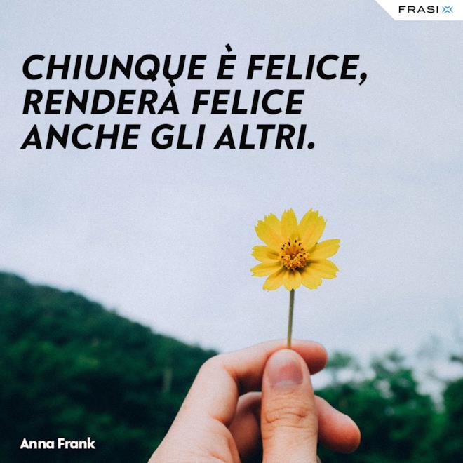 Frasi felicità Anna Frank