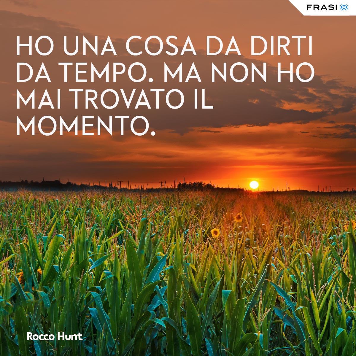 Frasi tumblr canzoni Rocco Hunt