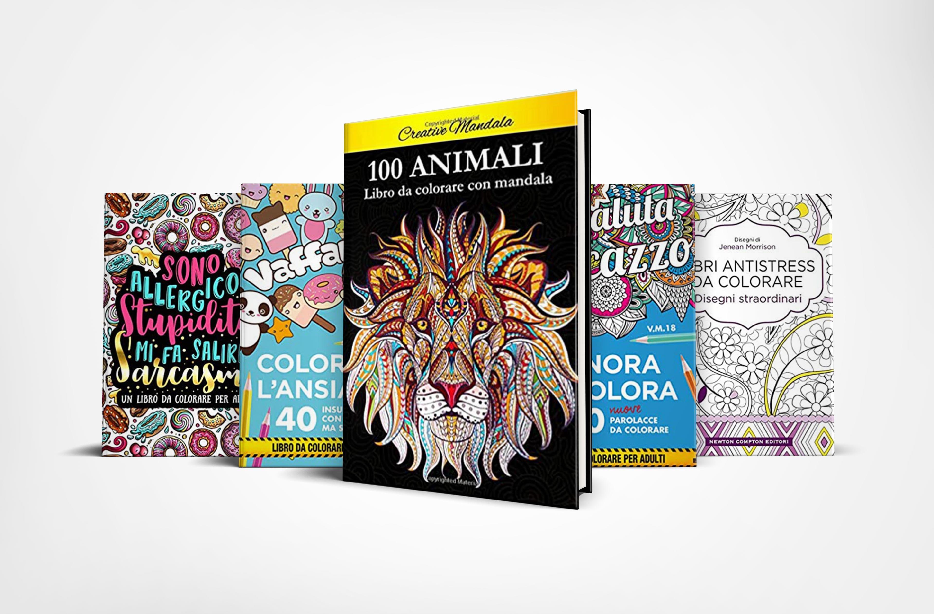 10 libri antistress da colorare perfetti per rilassarsi e divertirsi