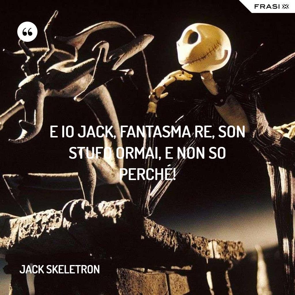 Immagine con frase di Jack