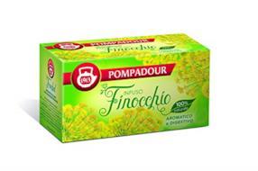 Pompadour - Infuso Finocchio - 20 filtri - [confezione da 3]