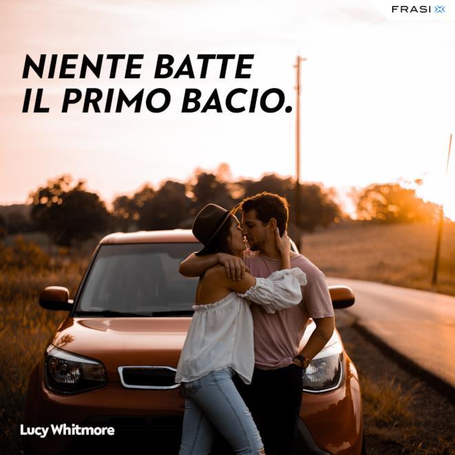 Frasi sul primo bacio Lucy Whitmore