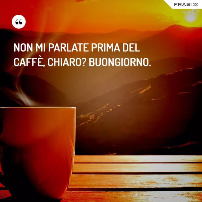 Buongiorno immagini colorate caffè