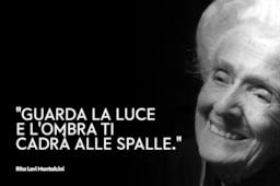 Copertina Rita Levi Montalcini frasi