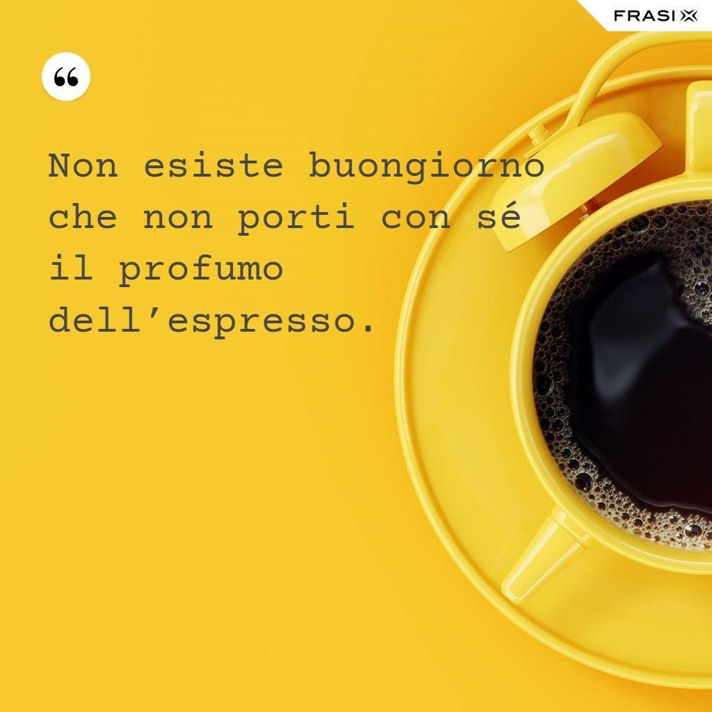 Buongiorno immagine tazza caffè
