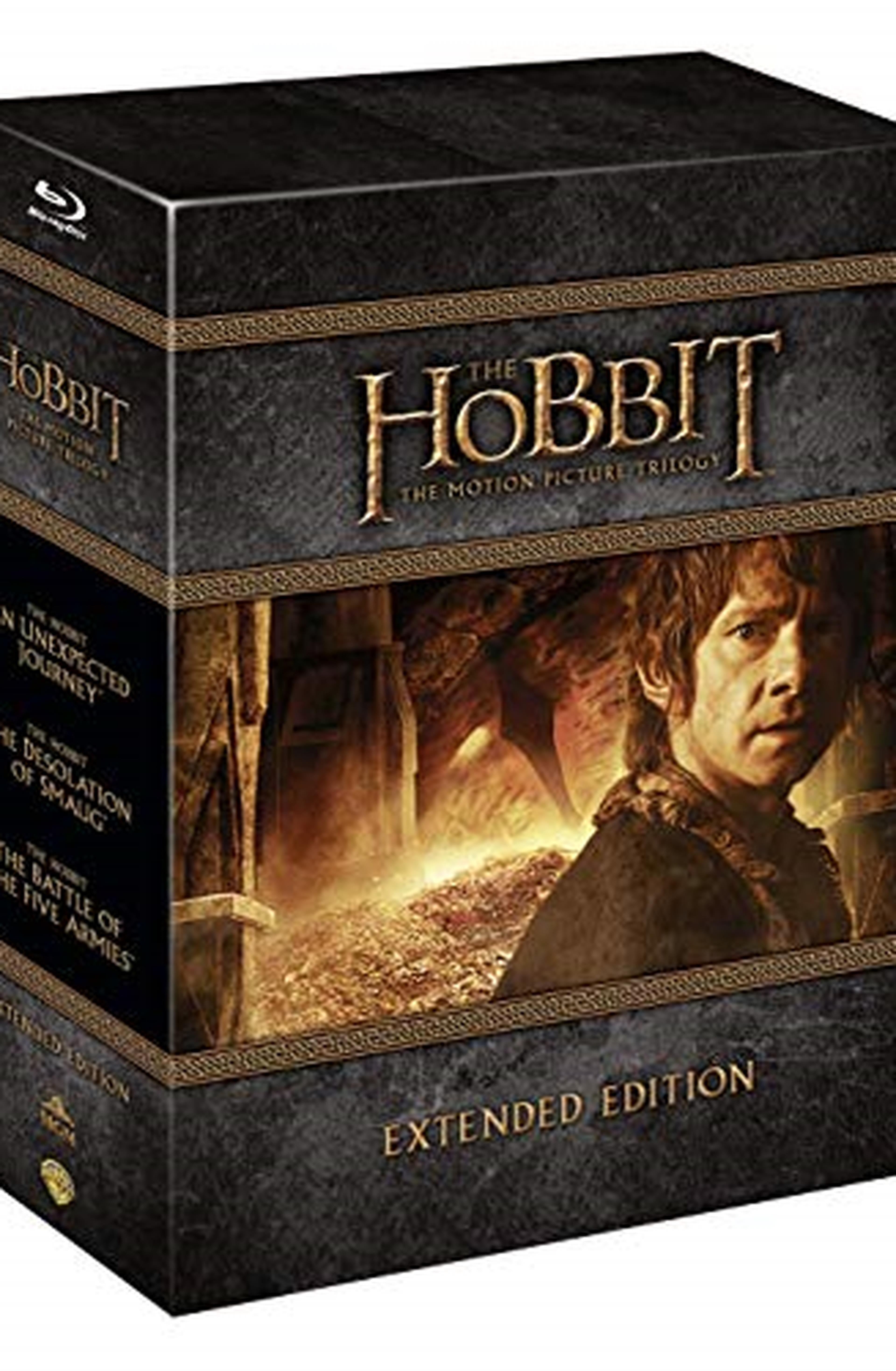 Cofanetto Blu-ray de Lo Hobbit: Film 1-3