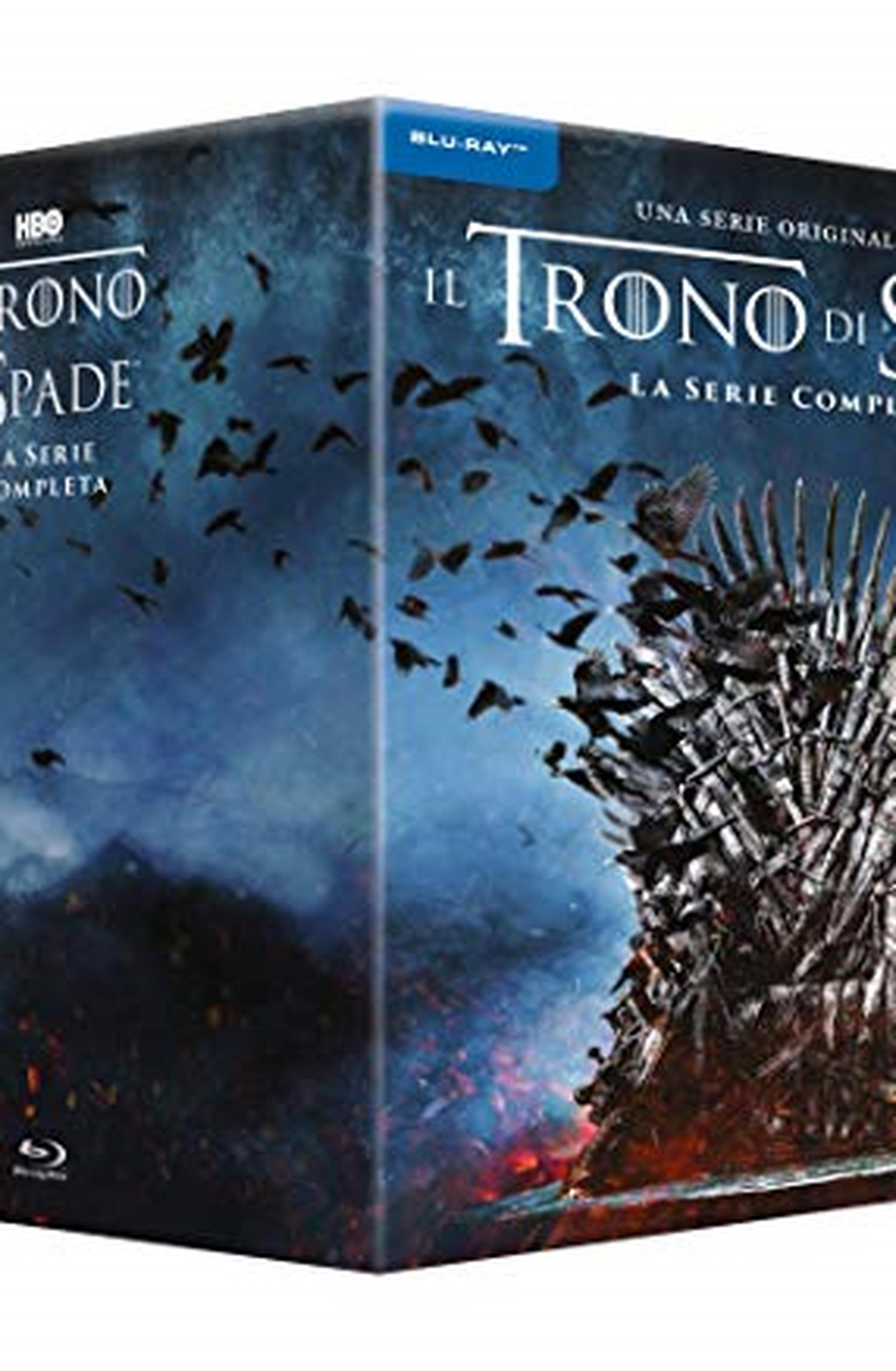 Cofanetto Blu-ray de Il Trono di Spade - Stagioni 1-8