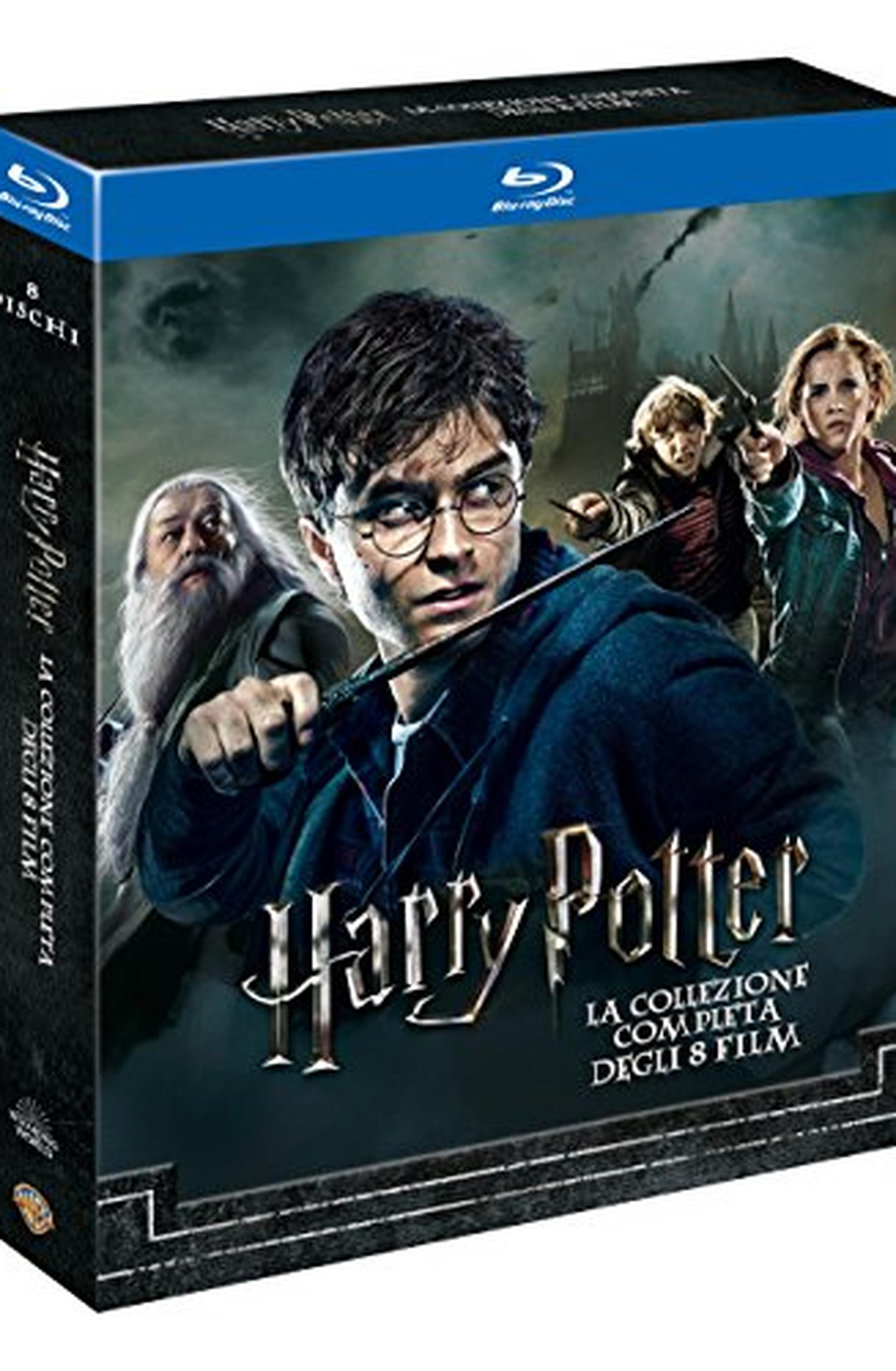 Cofanetto Blu-ray di Harry Potter - Film 1-8
