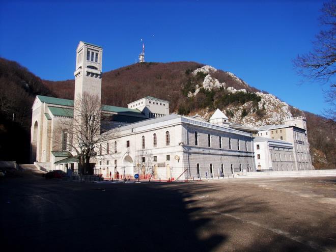 Il Santuario di Montevergine a Mercoglioano