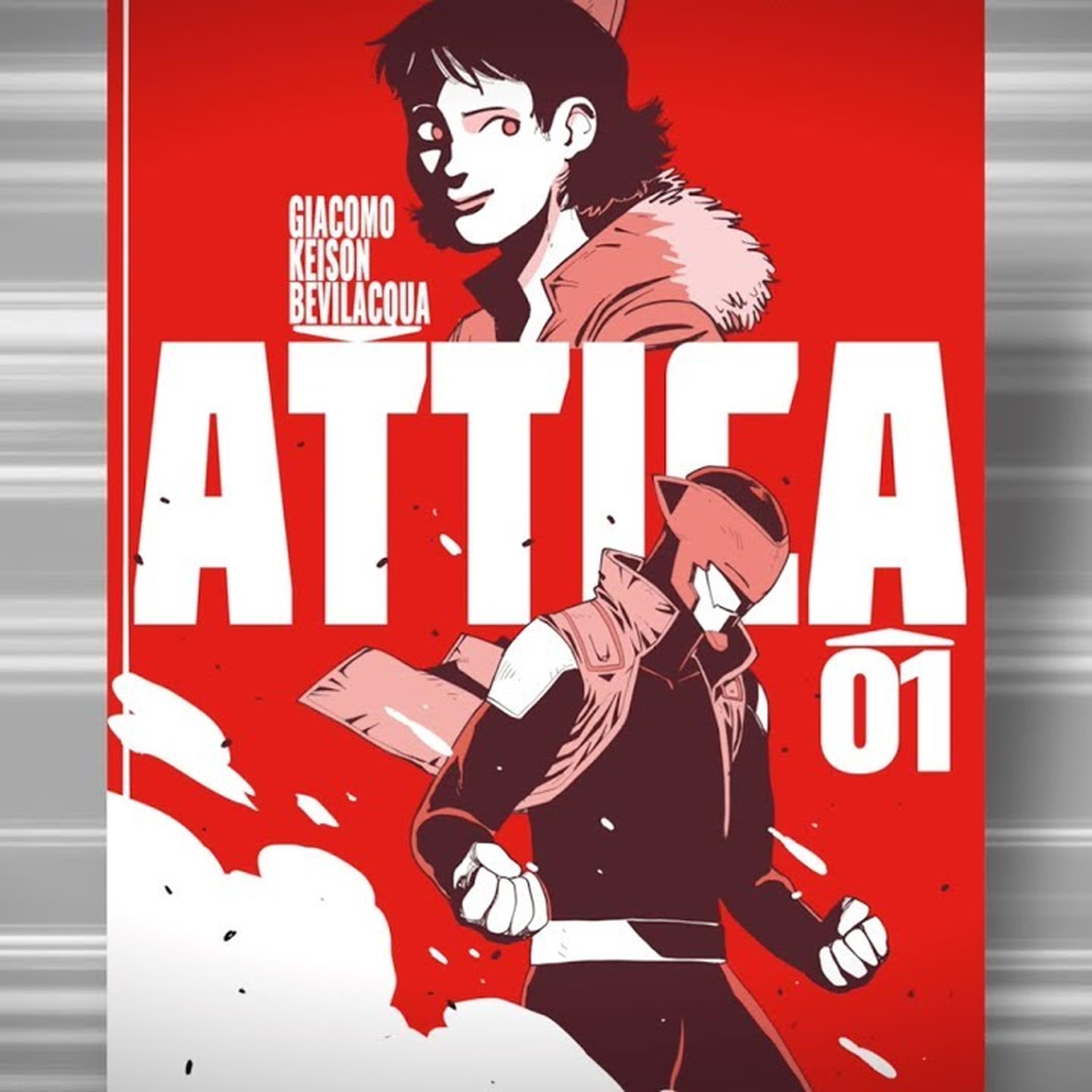 Attica: il primo fumetto in stile manga edito da Bonelli Editore